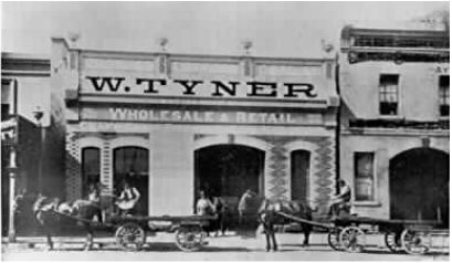 William Tyner's Grain & Produce Store High St Malvern, Victoria