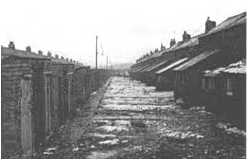 Colliery houses, Pegswood