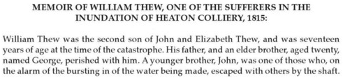 ​Heaton Disaster 1815