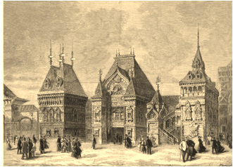 Russian pavilion- Paris 1878