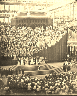 Queen Victoria Opening the Re-located ​Crystal Palace in 1854