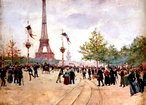 Paris hosted the 1889 Exposition