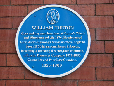 William Turton - Corn and hay merchant at Turton's Wharf, Leeds
