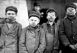 Children in Coal mines