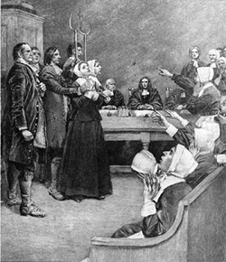Midwives used ointments & herbs & some were considered witches & burned at the stake or hanged