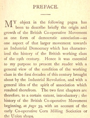 Co-operative Movement in Great Britain by Beatrice (Potter) Webb