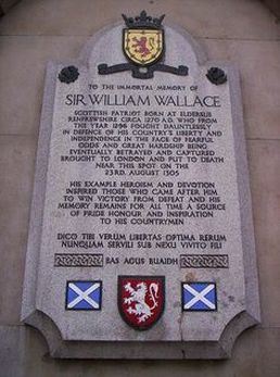 Memorial to Sir William Wallace