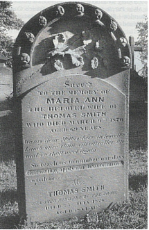 Grave of Maria (Granny) Smith ​St. Anne's Churchyard, Ryde, N.S.W.