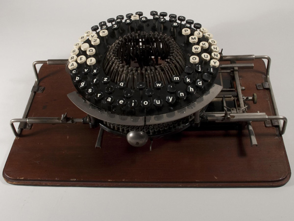Jones mechanical typographer from 1853.
