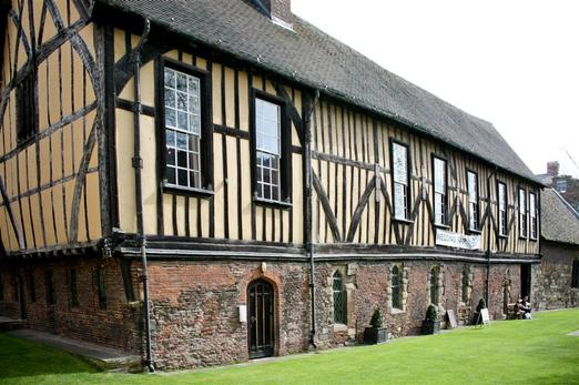 Merchant Adventurers' Hall in the city of York, England