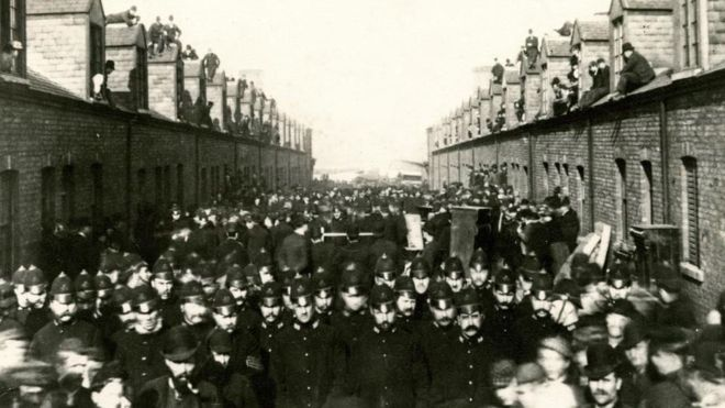 1891- Silksworth Colliery Evictions
