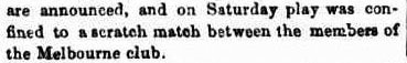 June 1862, no match for the football season yet