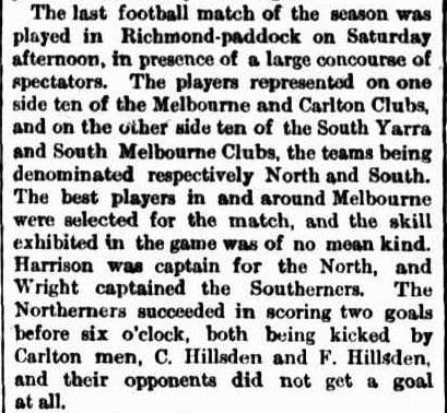 Aussie Football 1867