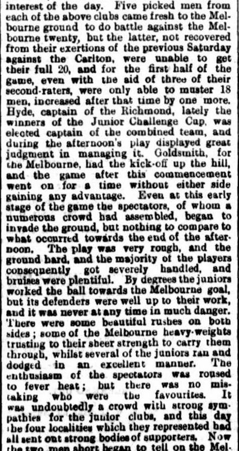 Football clubs 1872- Carlton, Melbourne