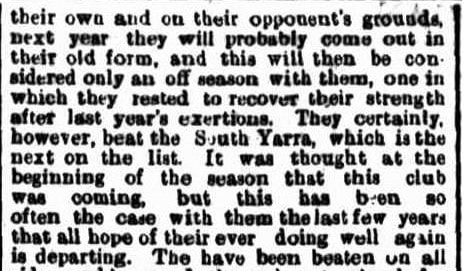 South Yarra football club 1871