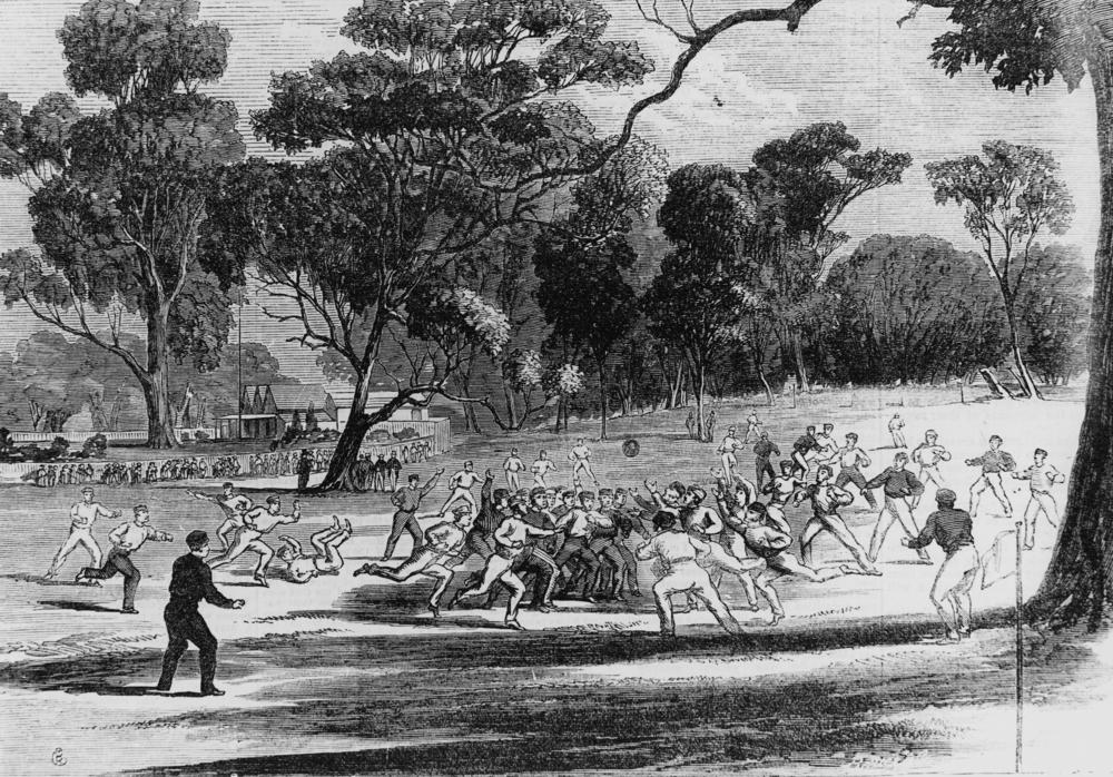 Richmond Paddock, Football 1866
