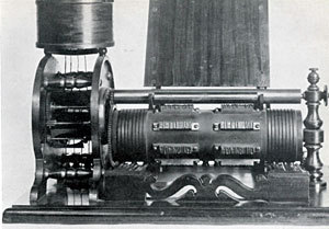 Edison's first invention, a Vote Machine 1869