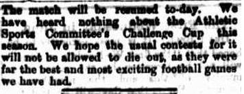 Aussie Rules Football June 1867