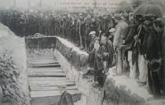 Courrieres (France) 1,099 lives lost in 1906