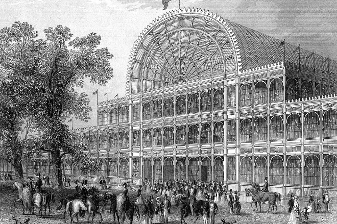 The Committee Organised a Competition For the Crystal Palace
