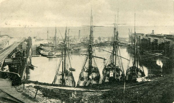 Seaham Harbour North Dock pre 1899