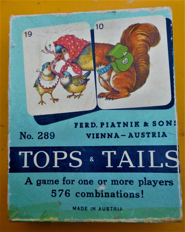 1960's game Tops & Tails