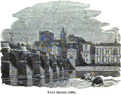 Tyne Bridge 1800