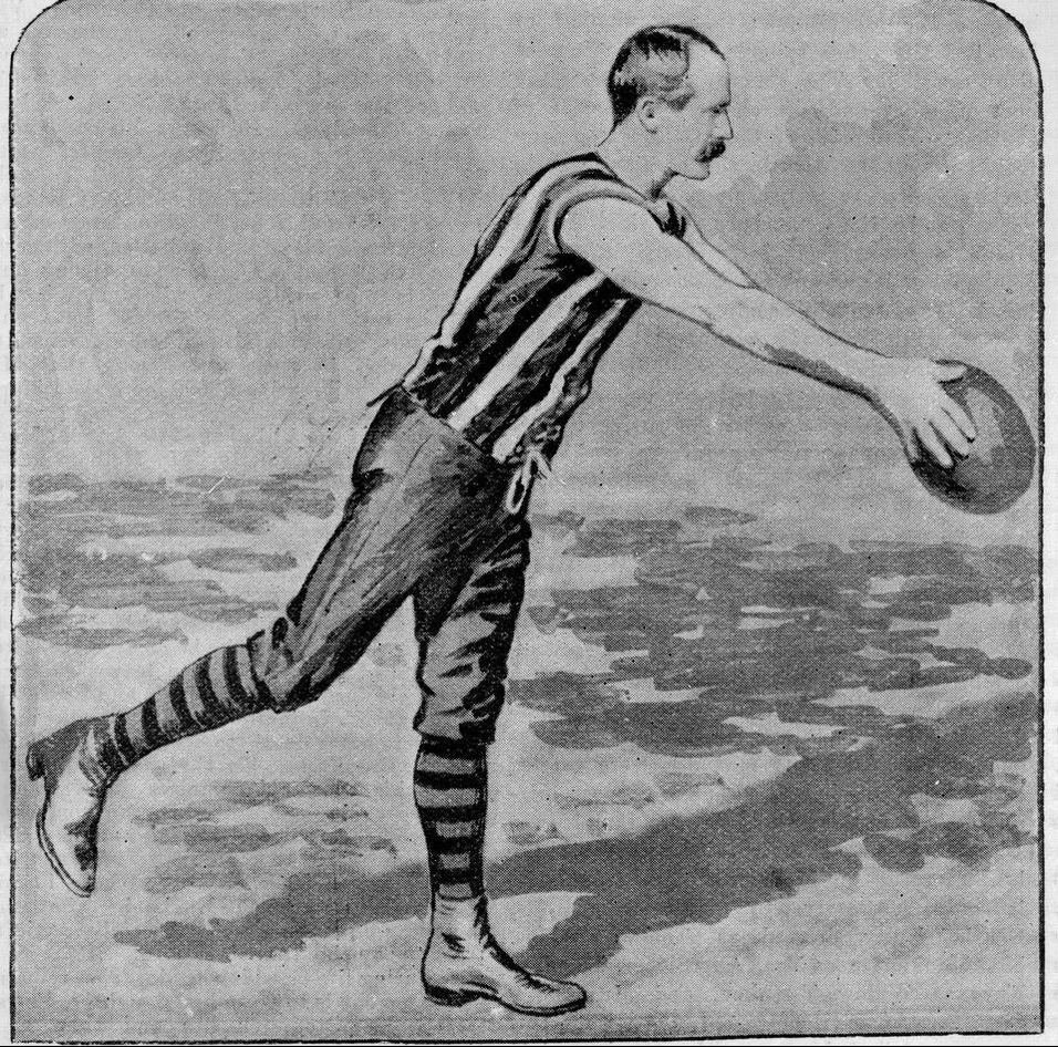W. Lockett, St. Kilda Football club