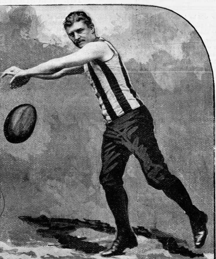 W.Strickland, Collingwood football club