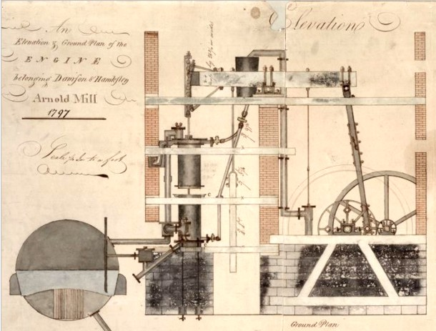 Mill Engine 1797 Boulton & Watt