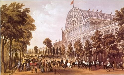 The Crystal Palace, built for The Great Exhibition London, 1851