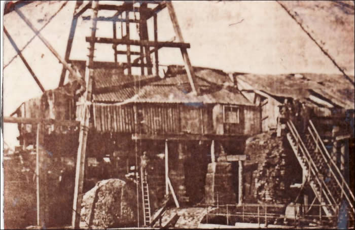 Hazard Colliery at East Rainton