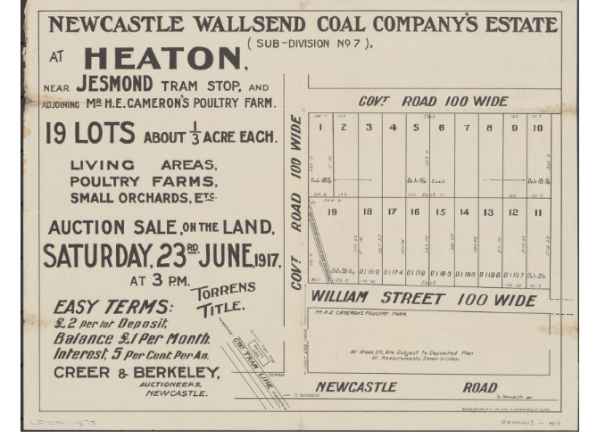 Heaton Wallsend Coal Company Estate