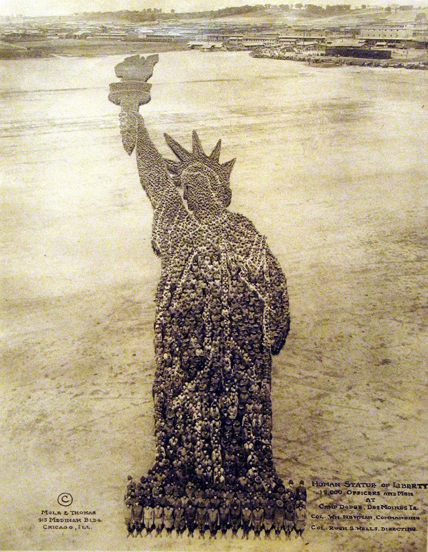 1918 Soldier's Statue of Liberty