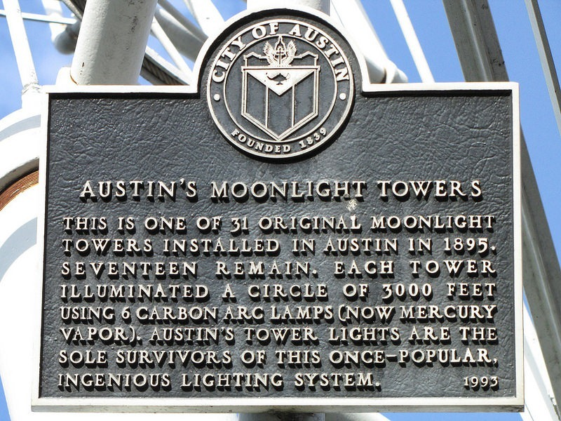Austin's Moonlight Towers