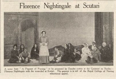 Florence Nightingale at Scutari