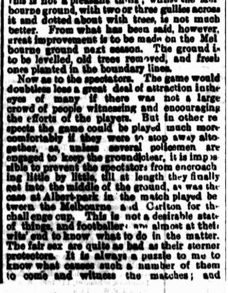 Melbourne, Carlton Football clubs 1871