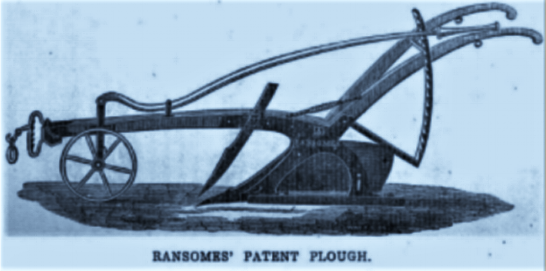Ransome's Plough 1844