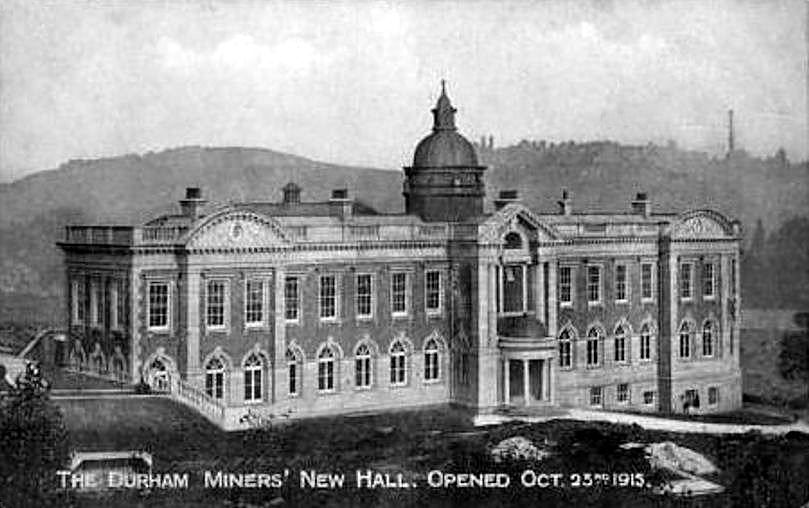 New Miners' Hall, Oct. 1915 Durham
