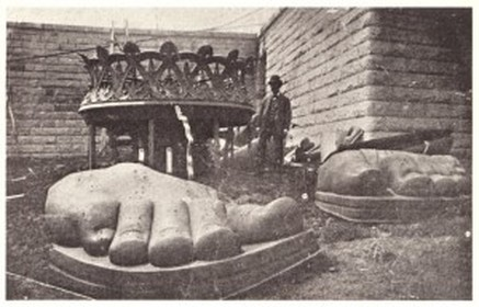 Unpacking the Statue of Liberty's feet