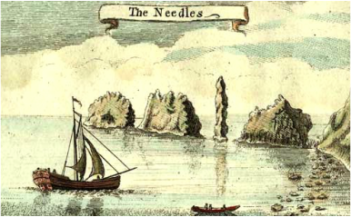 The Needles 1759 Isaac Taylor