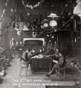 First World War troops used York's Merchant Adventurers' Hall as a billet