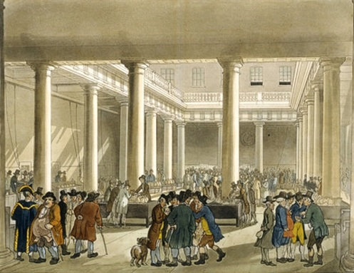 Corn Exchange building, London 1808