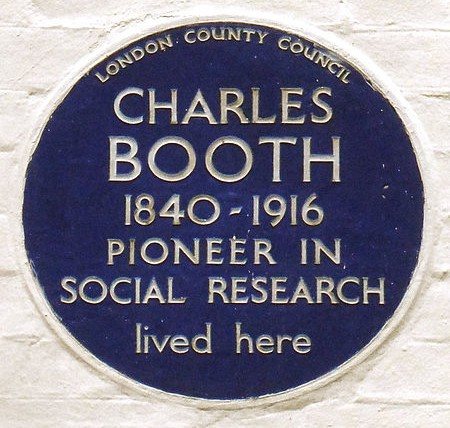 Charles Booth 6 Grenville Place, South Kensington, London ​