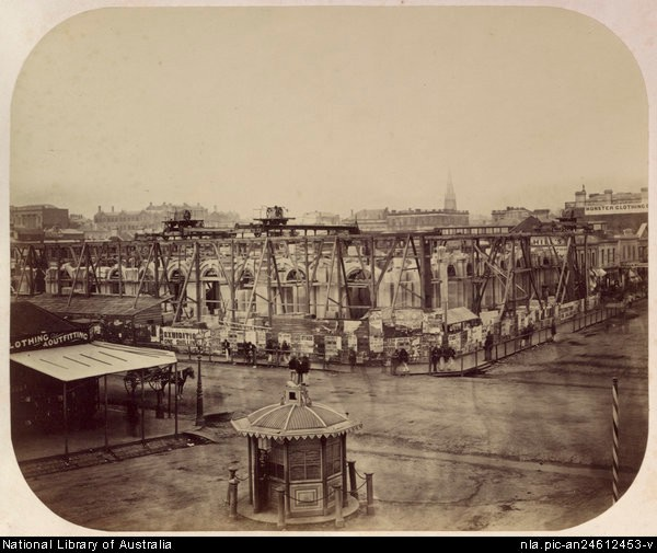 Post Office, Melbourne. 1861