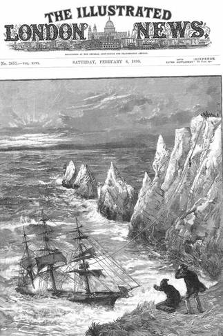 Very Rocky & Treacherous around the Isle of Wight, there have been many shipwrecks