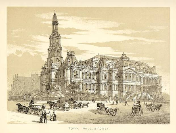 Sydney Town Hall- Architectural images